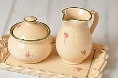 Nádoby - Romantický mliečník - 13280782_
