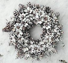 """Dekorácie - Veniec """"ľadové kvety"""" - 13280066_"""