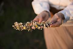 """Ozdoby do vlasov - Kvetinový venček """"nežné prebudenie""""  - 13277138_"""