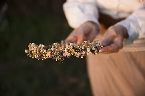 """Kvetinový venček """"nežné prebudenie"""""""