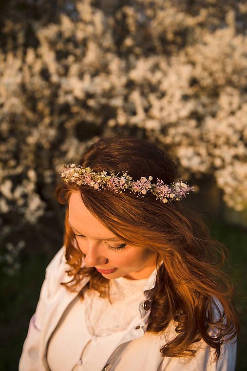 """Kvetinový venček """"s tebou, láska"""""""