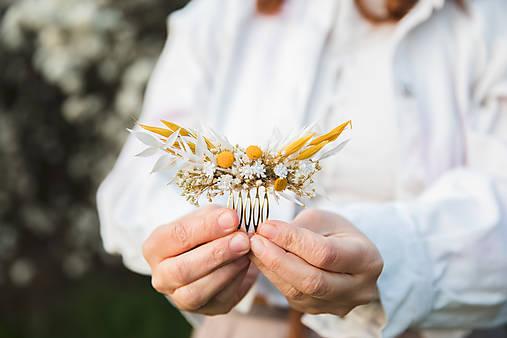 """Kvetinový mini hrebienok """"slnko vyšlo"""""""