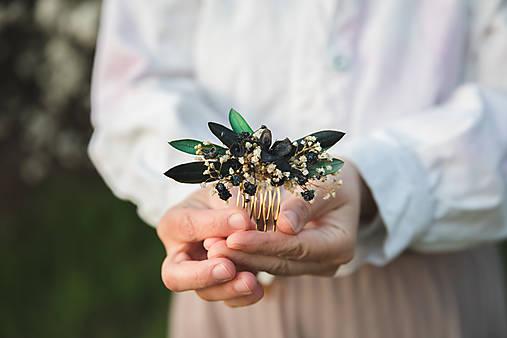 """Kvetinový mini hrebienok """"tajomstvá dlhých večerov"""""""