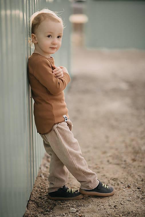 Detské oblečenie - Rebro nátelník - 13279272_