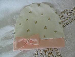 Detské čiapky - Čiapočka - 13276915_