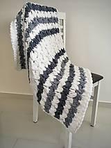 Textil - Puffy deka do kočíka 80x80cm - 13281253_