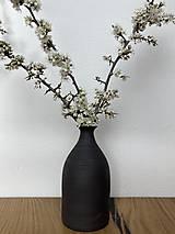 Dekorácie - Medium Cherry Vase - Black - 13280599_