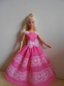 Hračky - Šaty pre barbie - 13278951_