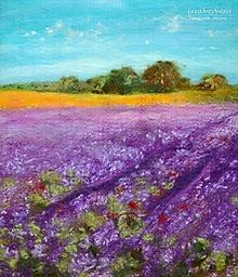 """Obrazy - Arttexový obraz """"Vôňa levanduľových polí"""" - 13281710_"""