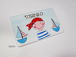 Detské doplnky - obrázok pre Tobinka - 13282670_