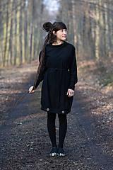 Šaty - Šaty MOIRY finster - 13282704_