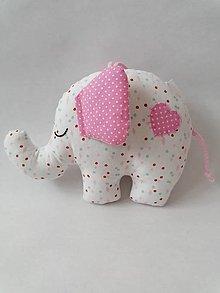 Hračky - Sloník hračka - 13282542_