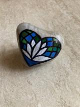 Dekorácie - Maľovaný kameň - VĎAČNOSŤ - 13282451_