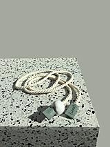Opasky - Rope belt Minty - 13283200_