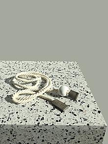 Opasky - Rope belt Grey - 13283243_