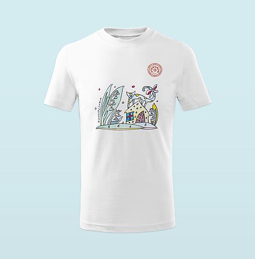 "Detské tričko ,,konvalinka"""