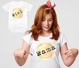 Detské oblečenie - Mama - mini - 13281786_