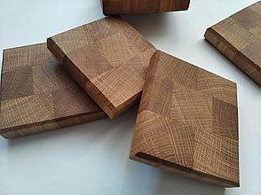Pomôcky - Podložky pod poháre z lepeného dreva - 13282935_