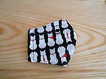 Rúška - Rouška černá kočičí - 13281363_