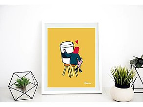 Grafika - Rande s Kávou - 13283735_