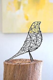 Socha - vtáčik * 21 - 13283743_