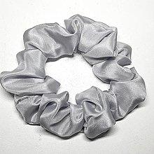 Ozdoby do vlasov - Hodvábne gumičky do vlasov - scrunchies - 13282211_