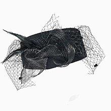 Čiapky - Klobúčik so sieťkou - 13284039_
