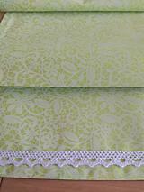 Úžitkový textil - Štóla  v zelenom - 13286920_