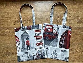 Nákupné tašky - Taška cez plece London1 - 13289724_