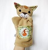 Hračky - Maňuška mačka - Divá mačka od Líščieho chodníčka - 13286174_