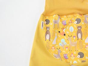 """Detské oblečenie - Softshellky jarné """"jarné zvieratká"""" - 13287798_"""