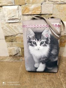 """Veľké tašky - Taška """"kitty""""-magn.zap. - 13288176_"""