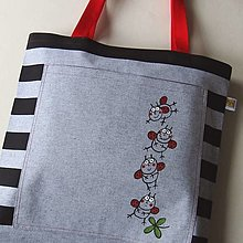 Veľké tašky - Taška velká ... LIENKOVÁ - 13288693_