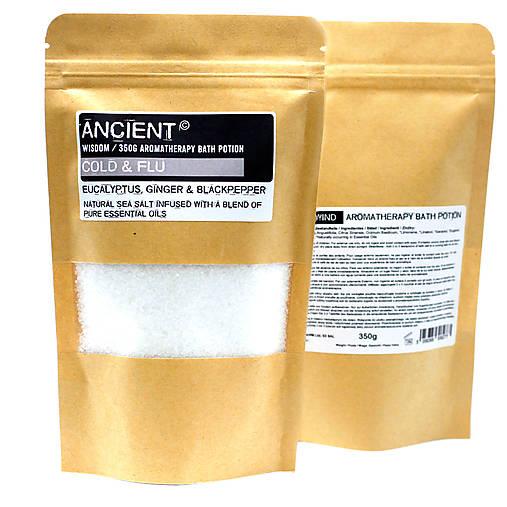 Aromaterapeutická Soľ do Kúpeľa 350g (Aromaterapeutická Soľ do Kúpeľa 350g - Vášeň)
