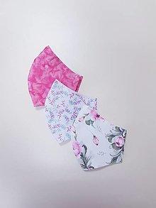 Rúška - Dizajnové bavlnené rúško - 13289701_