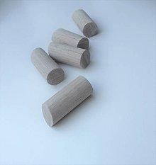 Nábytok - Vešiaky kolíky zošikmené - 13288861_