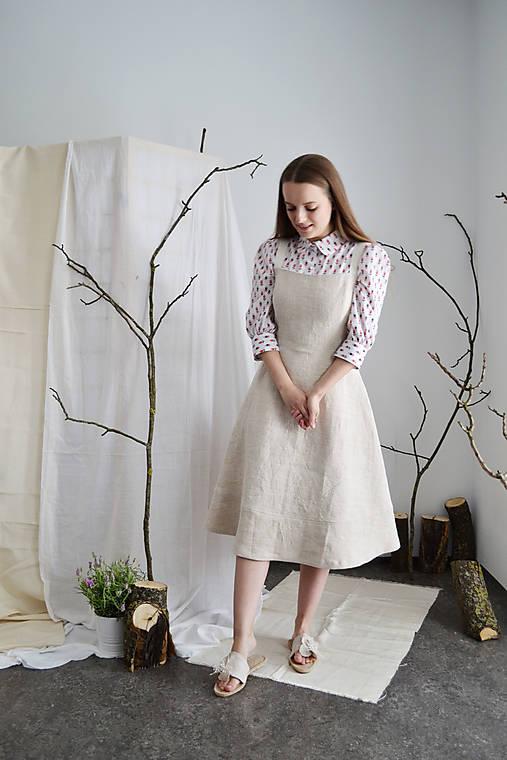 Upcy bavlnená blúzka s drobným vzorčekom