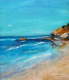 """Obrazy - Arttexový obraz """"Na pláži pri šume mora"""" - 13293597_"""