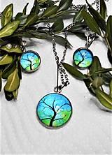 Sady šperkov - Chirurgická oceľ- stromy - 13291166_