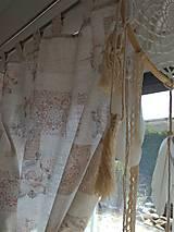 Úžitkový textil - Závesy romantické - 13290474_