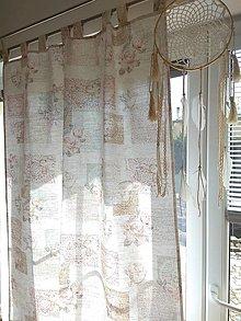 Úžitkový textil - Závesy romantické - 13290475_