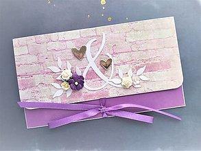 Papiernictvo - Svadobná obálka na peniaze - 13290486_