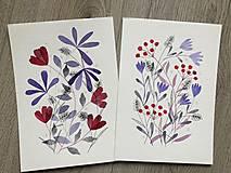 Obrazy - Kvetinové Duo 2 - 13290532_