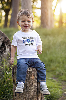 Detské oblečenie - Dajce mi šicke pokoj- tričko - 13292884_