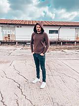 Tričká - Pánske tričko s kapucňou - 13293827_