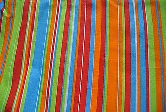 Textil - Oranžové pruhy - 13295348_