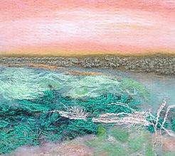 """Obrazy - Arttexový obraz """"Jemnosť pastelovej krajiny"""" - 13294627_"""