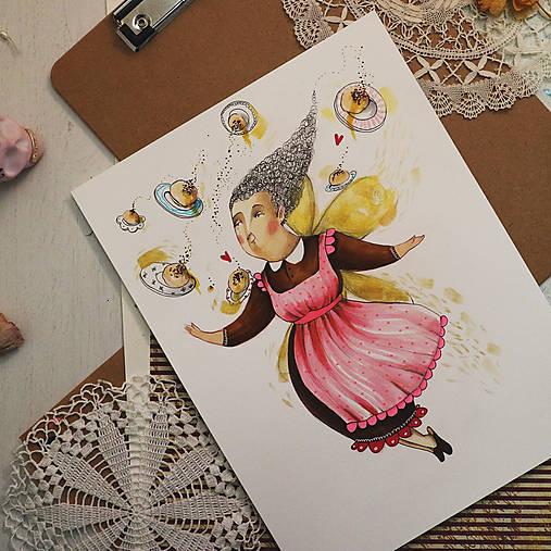 Babka a buchty/ originál obrázok