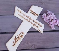Dekorácie - Svadobný kríž - 13295689_
