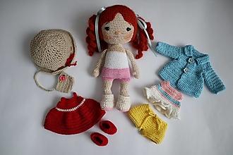 Hračky - Bábika s oblečením - 13296632_